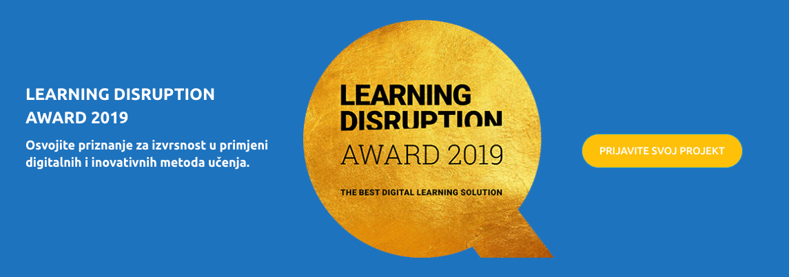 LEARNING DISRUPTION AWARD 2019
